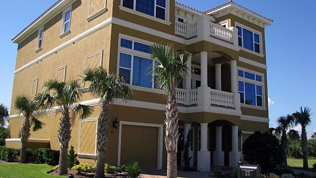 USA: 680.000-$-Haus auf falschem Grundstück gebaut (Bild: AP/Daytona Beach News-Journal, Bob Koslow)