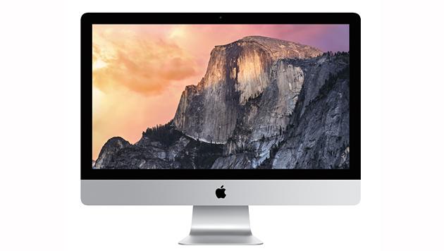 Der neue iMac mit hochauflösendem 5K-Display (Bild: Apple)