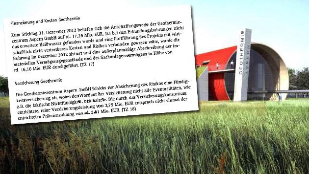 Aspern: 16 Millionen bei Fernwärmeprojekt versenkt (Bild: Wien Energie, Krone)