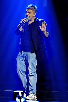 René Kolar hat vor acht Jahren zu singen und rappen begonnen und schreibt seine eigenen Songs. (Bild: ORF/Milenko Badzic)