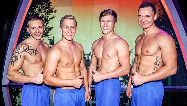 Beast Brothers ist eine vierköpfige Gruppe aus Deutschland. (Bild: ORF/Milenko Badzic)