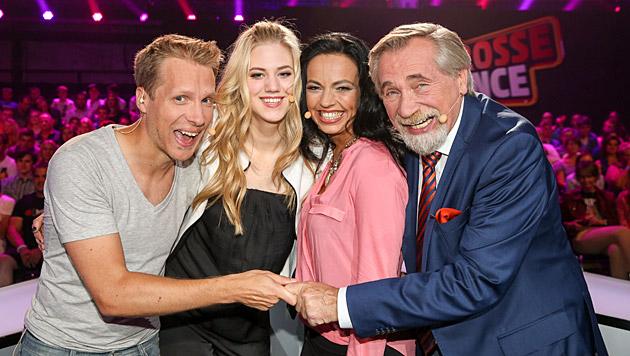 Pocher, Marolt, Frey und Rapp (Bild: ORF/Milenko Badzic)
