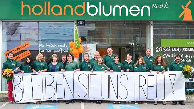 """""""Insolvenz hat keinen Einfluss auf unsere Ware!"""", betont das Unternehmen auf Facebook. (Bild: Holland Blumenmark)"""