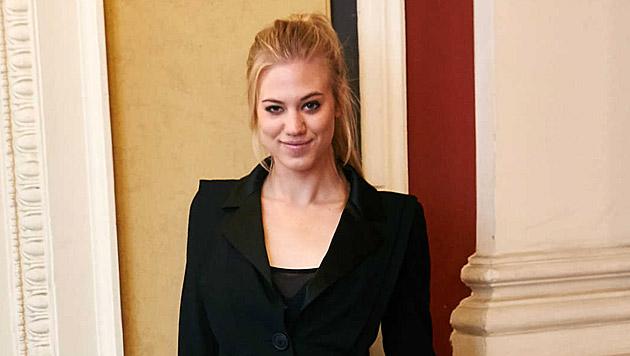 """Larissa Marolt ist vor der ersten """"Große Chance""""-Liveshow ein bisschen nervös. (Bild: Alexander Tuma)"""
