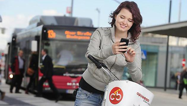 "Neue Verkehrs-App ""Smile"" startet in Testphase (Bild: Wiener Stadtwerke/Zinner)"