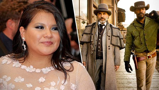 """Misty Upham spielte neben Christoph Waltz eine kleine Rolle in """"Django Unchained"""". (Bild: AP)"""
