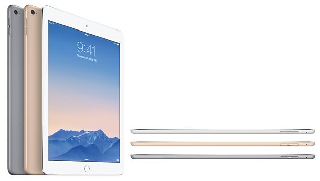 "Das neue iPad Air ist nur 6,1 Millimeter ""dick"". (Bild: Apple)"