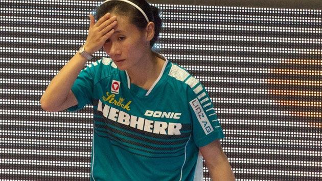 Liu Jia scheitert an Olympiasiegerin (Bild: APA/EXPA/REINHARD EISENBAUER)