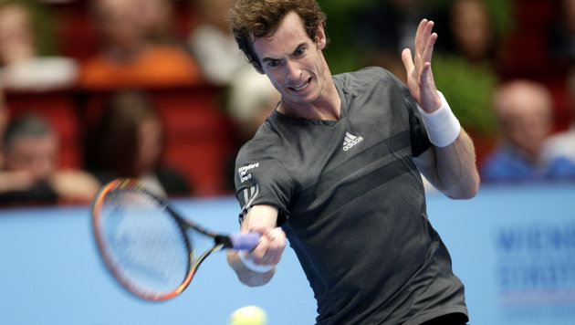 Der Sieger von 2014: Andy Murray! (Bild: APA/GEORG HOCHMUTH)