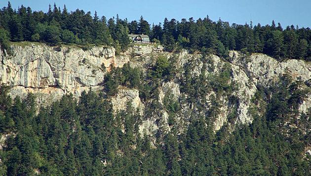 Am Weg zum Hubertushaus kam es auf dem Klettersteig zu dem tragischen Absturz. (Bild: OeAV Sektion Österreichischer Gebirgsverein (ÖGV))
