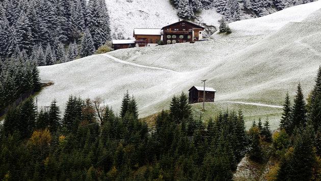 Kälte kommt: Schnee ab Mittwoch bis auf 800 Meter (Bild: APA/DIETMAR STIPLOVSEK (Symbolbild))