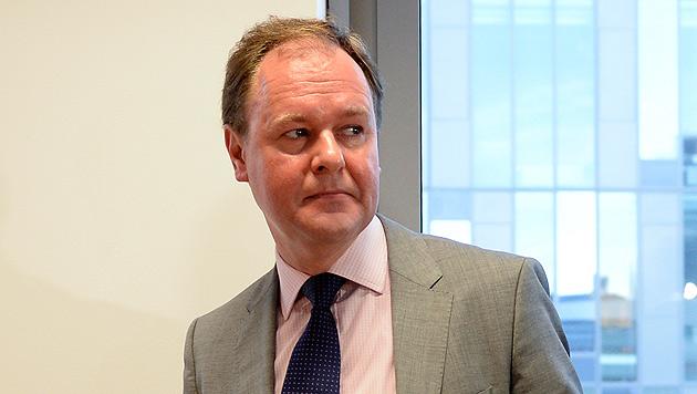 Grassers ehemaliger Steuerberater Peter Haunold (Bild: APA/HERBERT NEUBAUER)