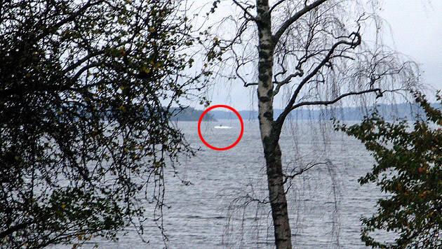 """Die schwedische Armee veröffentlichte dieses Bild, auf dem das """"fremde Schiff"""" zu sehen ist. (Bild: APA/EPA/SWEDISH DEFENCE/HANDOUT)"""