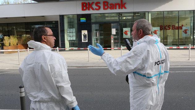 Schuss löst sich bei Gerangel mit Bankräuber (Bild: Uta Rojsek-Wiedergut)