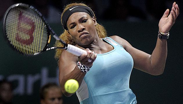 Serena Williams gewinnt zum Auftakt gegen Ivanovic (Bild: AP)