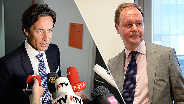 """Steuerberater vor Gericht: """"Habe Grasser gewarnt"""" (Bild: APA/HERBERT NEUBAUER)"""