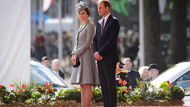 Kate und William zeigten sich erstmals seit Wochen wieder gemeinsam. (Bild: AFP)