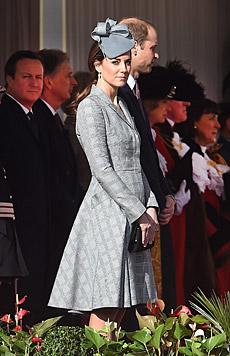 Kate soll es stetig besser gehen. (Bild: APA/EPA/ANDY RAIN)