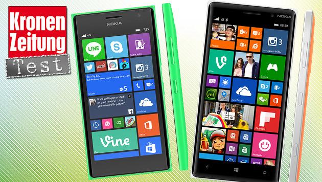 Lumia 735/830: Nokias neue Mittelklasse im Test (Bild: Microsoft)