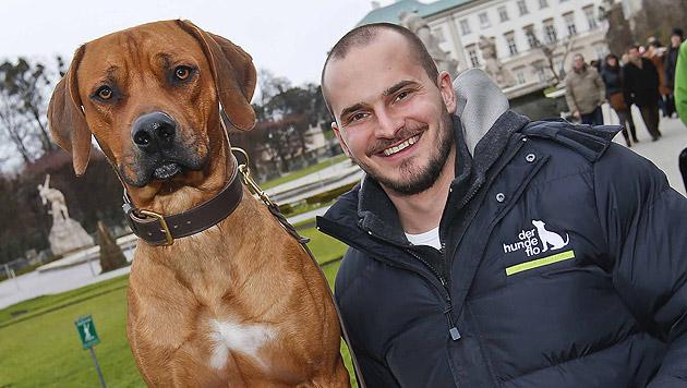 Hundetrainer Florian Günther (Bild: Markus Tschepp)