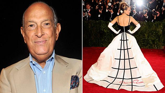 Designer Oscar de la Renta kleidete Stars wie Sarah Jessica Parker ein. (Bild: AP)