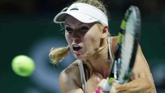 Wozniacki gewinnt Tennis-Marathon gegen Scharapowa (Bild: AP)