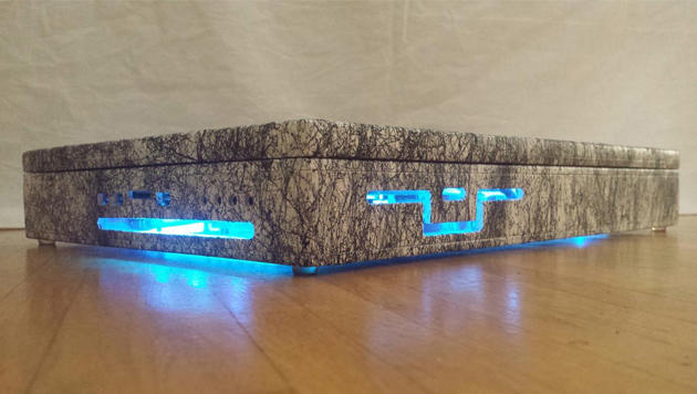 Bastler baute Gaming-Laptop mit Wasserkühlung (Bild: Thomas Jansen)