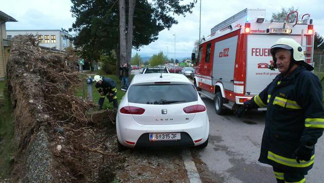 Feuerwehreinsatz in St. Georgen (NÖ) (Bild: APA/FF ST. GEORGEN)