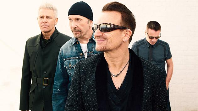 """U2 machen klar Schiff: """"Ich würde es wieder tun!"""" (Bild: Paolo Pellegrin)"""