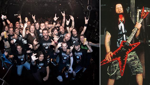 10. Todestag von Kult-Gitarrist Dimebag Darrell (Bild: Rafsandjani, Warner Music)