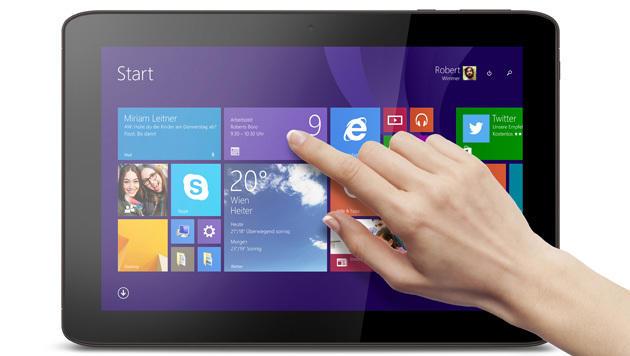 10-Zoll-Tablet mit Windows 8.1 und Full-HD: Medion Akoya E1234T (Bild: Medion)