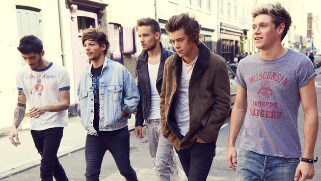 Boyband One Direction kommt erstmals nach Wien (Bild: Sony Music)