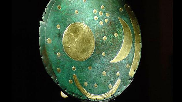 Gold der Nebra-Himmelsscheibe stammt aus Cornwall (Bild: APA/Barbara Gindl)