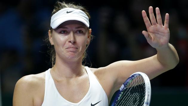 Maria Scharapowa trotz Sieg ausgeschieden (Bild: AP/Mark Baker)