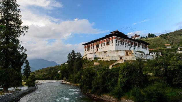 Mit Street View ins Himalaya-Königreich Bhutan (Bild: Google Street View)