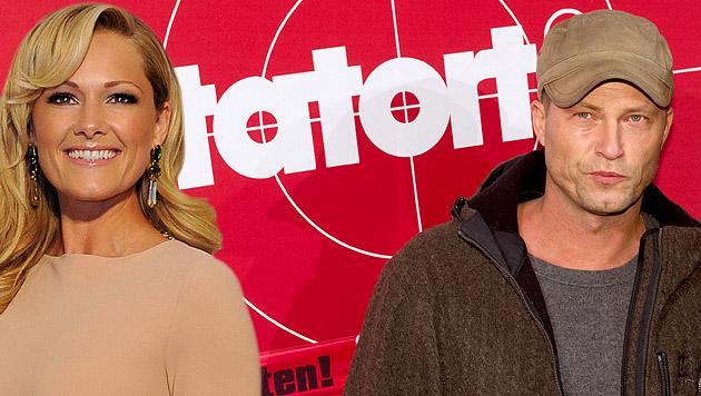 """Helene Fischer hat einen Gastauftritt im """"Tatort"""" neben Til Schweiger. (Bild: APA/HANS PUNZ, SVEN HOPPE/EPA/picturedesk.com)"""