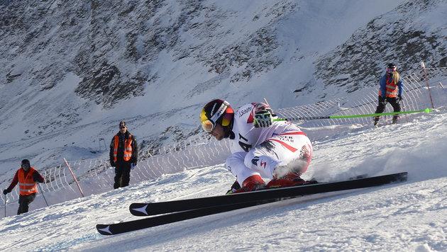 Marcel Hirscher triumphiert zum Auftakt in Sölden! (Bild: APA/ROBERT JAEGER)