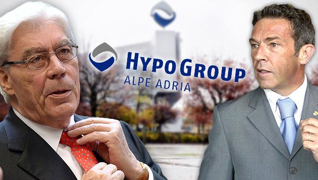 Schmidt (li.) und Haider (Bild: APA/BARBARA GINDL, APA/EPA/ANDREAS GEBERT, APA/GERT EGGENBERGER)