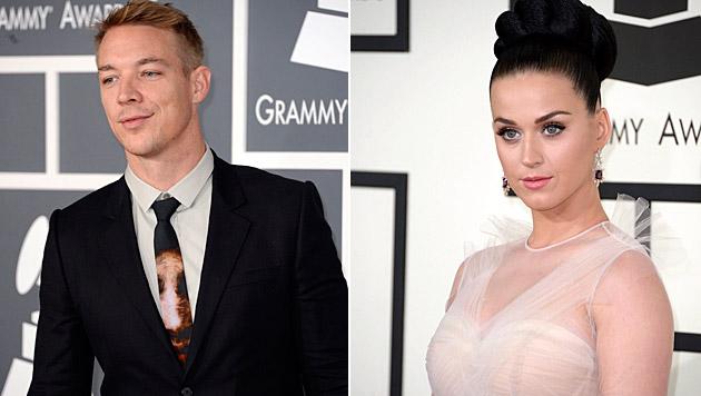 Katy Perrys Freund Diplo kriegt mit seiner Ex ein Baby. (Bild: MIKE NELSON/EPA/picturedesk.com, APA/EPA/MICHAEL NELSON)