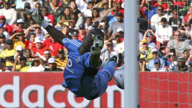 Mörder von Südafrika-Goalie Meyiwa gefasst? (Bild: AP)