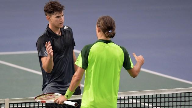 Tennis-Asse Thiem und Melzer feiern Siege in Paris (Bild: AFP)