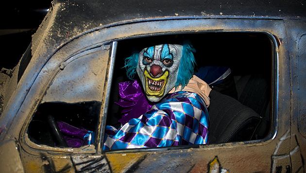 US-Studenten blasen zur Jagd auf Clowns (Bild: AFP)