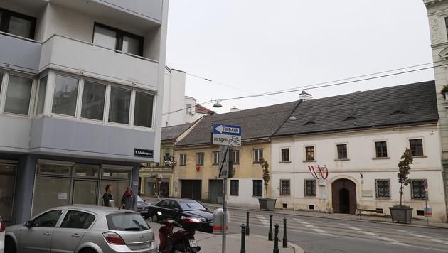 Am 13. November eröffnet am Eck gegenüber vom Schuberthaus die neue Spritzentausch-Einrichtung. (Bild: zwefo)