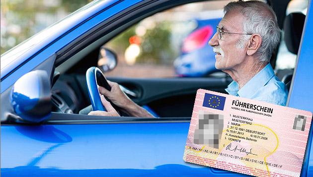 Gesundheitstests für ältere Führerscheinbesitzer? (Bild: thinkstockphotos.de, APA/ÖSTERREICHISCHE STAATSDRUCKEREI)