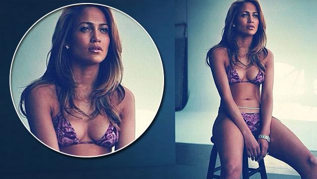 Mit diesem Foto wünscht sich Jennifer Lopez den Sommer zurück. (Bild: instagram.com/jlo)
