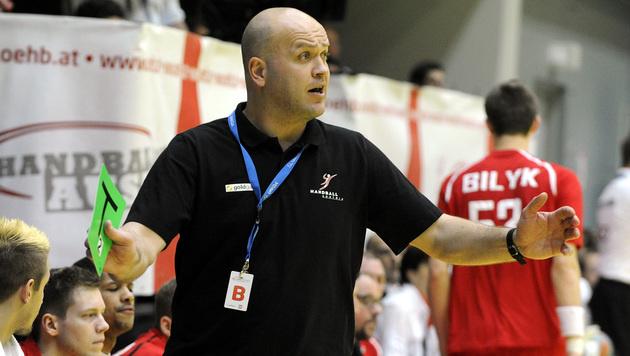 Teamchef Patrekur Johannesson (Bild: APA/HERBERT PFARRHOFER)