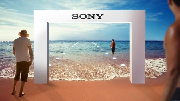 Sony eröffnet Unterwasser-Handygeschäft in Dubai (Bild: Sony)