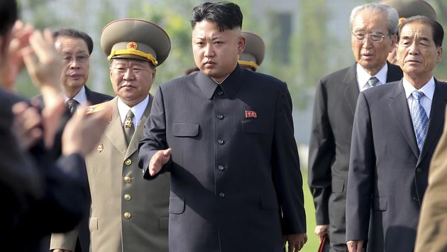 Nordkoreas Diktator Kim Jong Un (Bild: AP)