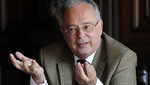 Heinz Engl, Rektor der Hauptuniversität Wien (Bild: APA/HERBERT PFARRHOFER)