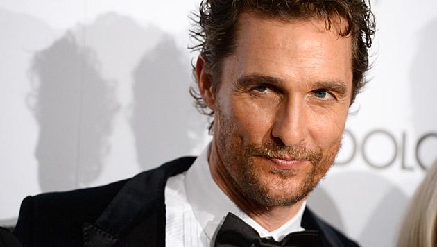 Matthew McConaughey teilte angeblich mit dem Geist einer alten Frau sein Heim. (Bild: Jordan Strauss/Invision/AP)